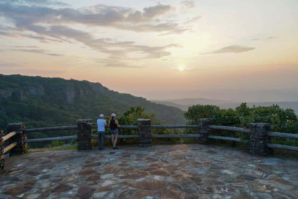 mount-magazine-state-park-cameron-bluff-sunset
