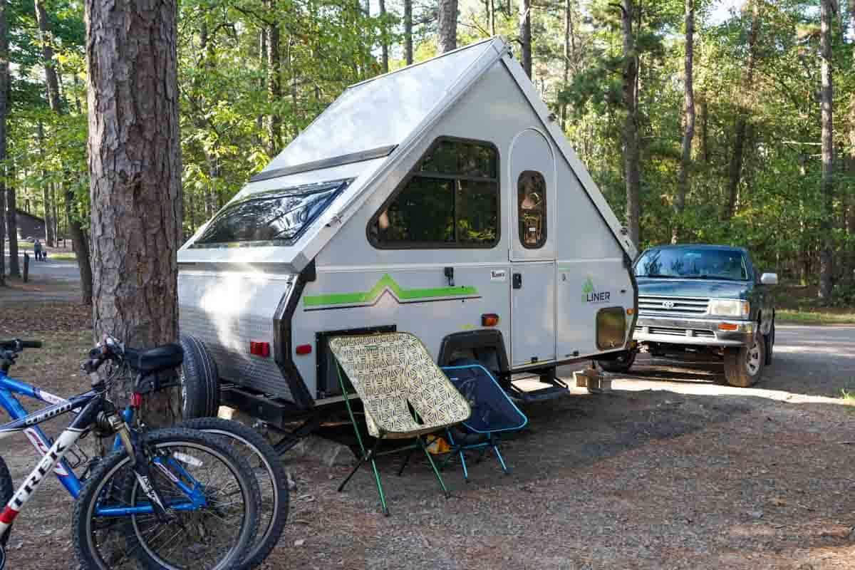 2021 Aliner Ranger 12 camper at campground